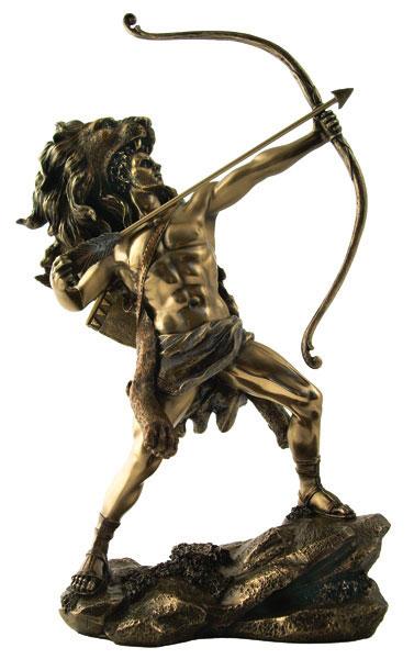greek goddess who shot arrows  Artemis Symbol Bow And