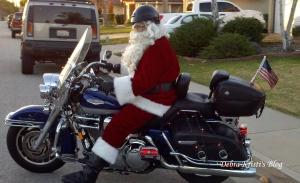 cycle santa
