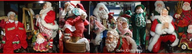 Santa Topper