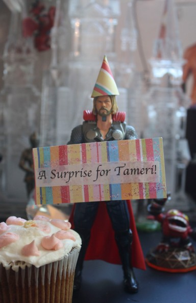 Thor's surprise for Tameri